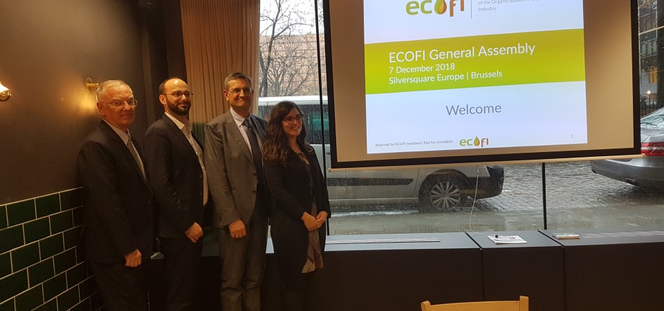 ECOFI elects new President Quentin Protsenko and Vice-President Chiara Manoli